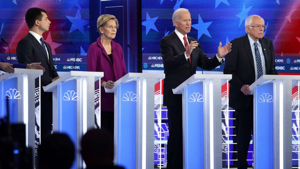 7 candidates invited to face off in final Democratic primary debate of 2019: DNC
