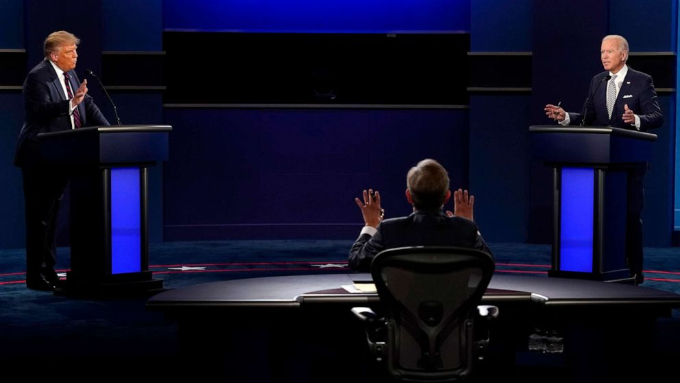 Chaos of 1st presidential debate prompts reactions of dismay, disappointment