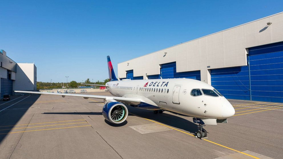 Astonishing Delta Bets On Bigger Seats In Smaller Planes With New A220 Machost Co Dining Chair Design Ideas Machostcouk