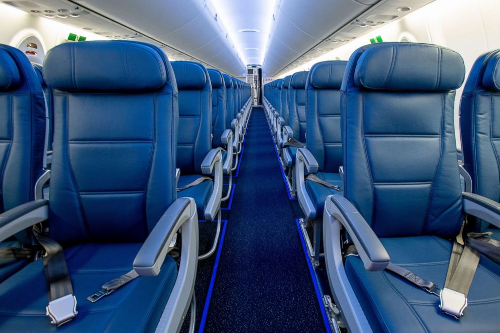 Outstanding Delta Bets On Bigger Seats In Smaller Planes With New A220 Machost Co Dining Chair Design Ideas Machostcouk