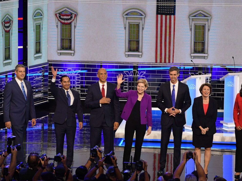 PHOTO: Democratic presidential candidates
