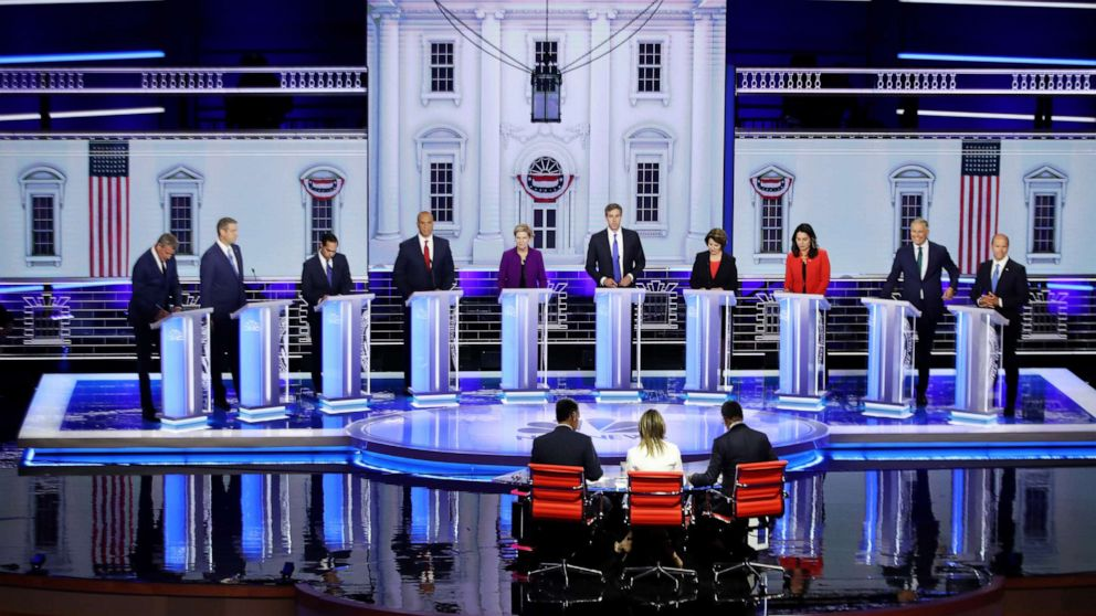 'Start Here': Dems host 1st debate as a migrant detention facility comes under fire thumbnail