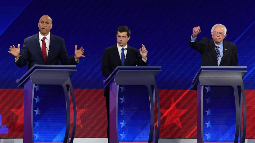 Who Had The Most Speaking Time In The Democratic Debate