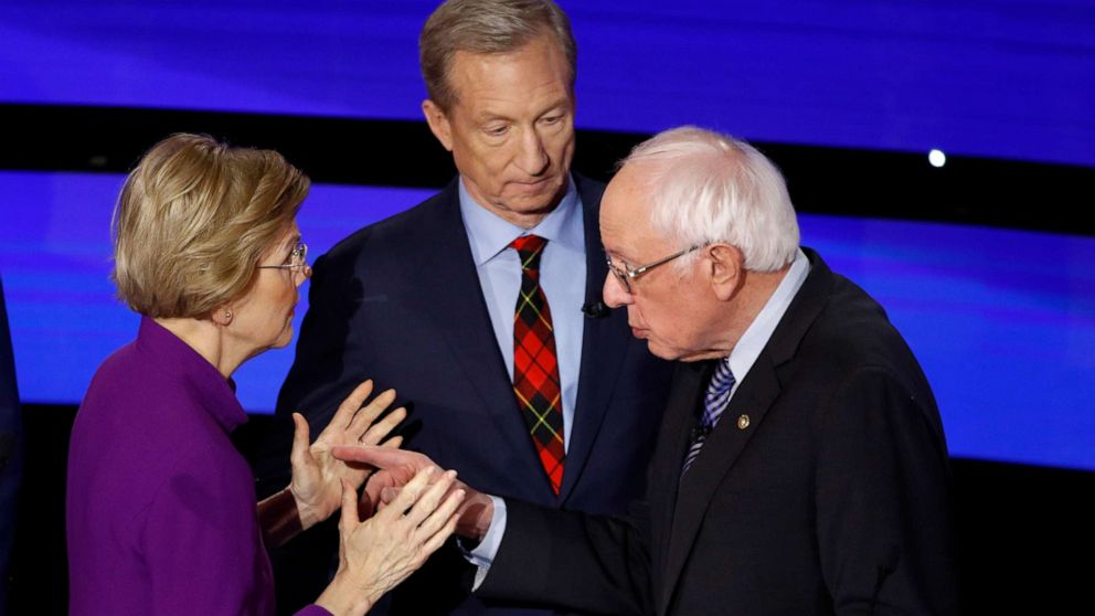 Warren and Sanders accuse each other of being liars after debate: Audio thumbnail