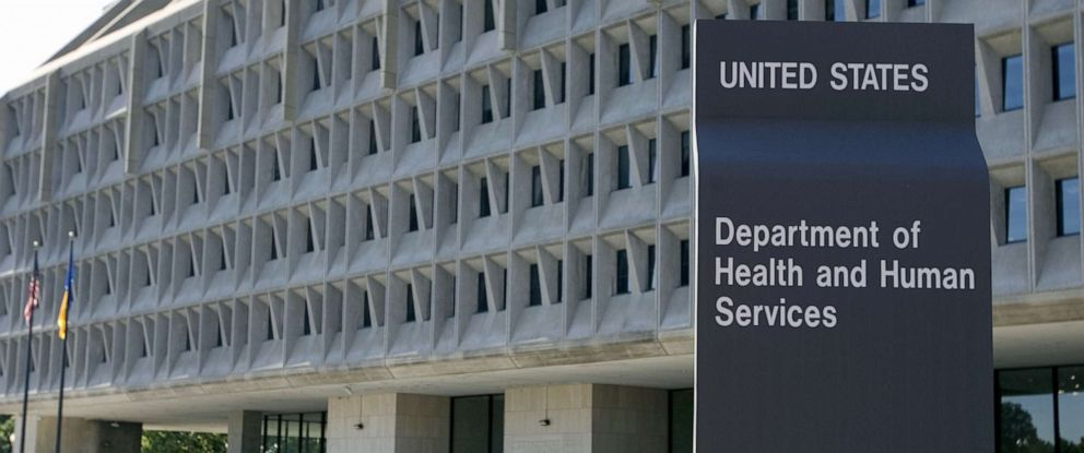 PHOTO: The US Department of Health and Human Services building in Washington, DC, July 21, 2007.