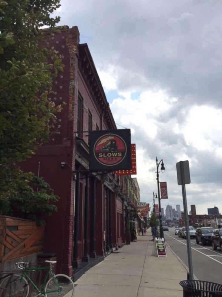 Slows Bar BQ in Detroit.