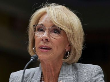 Education Secretary DeVos reverses stance on civil rights probes that led to suit