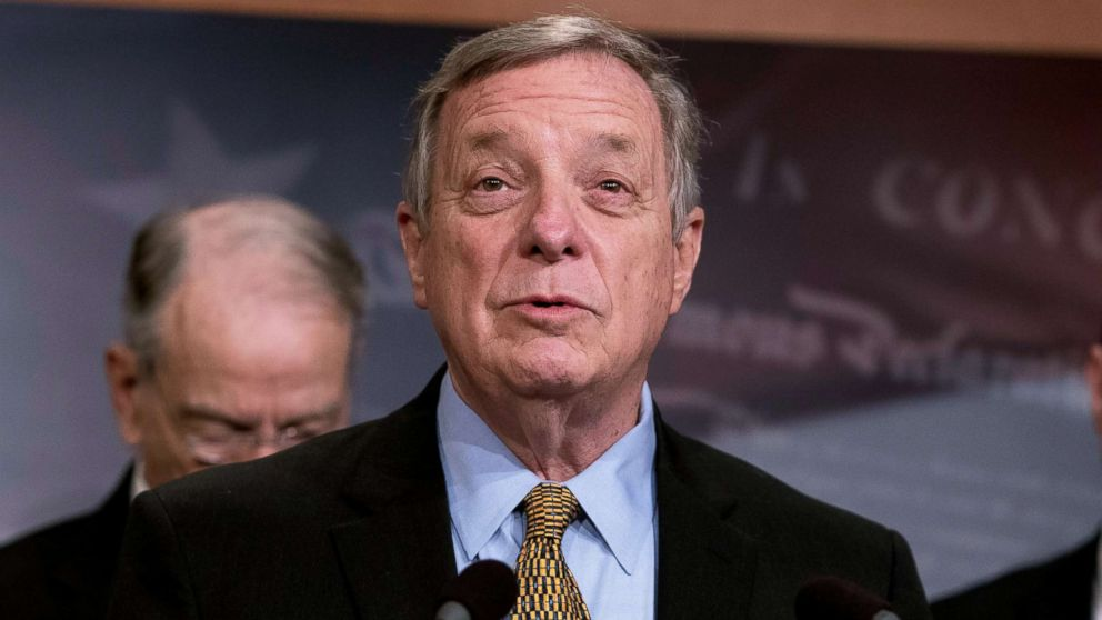Durbin to Trump: 'Put an end to this shutdown and put everything on the  table' - ABC News