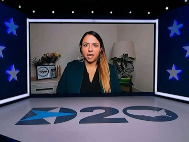 Daughter who lost father to COVID-19 blames Trump in emotional DNC speech thumbnail