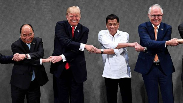 Trump S Latest Praise For Strongmen Includes Rodrigo Duterte Vladimir Putin And Kim Jong Un Abc News