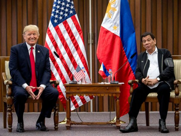 Philippine leader calls for abandoning Int'l Criminal Court