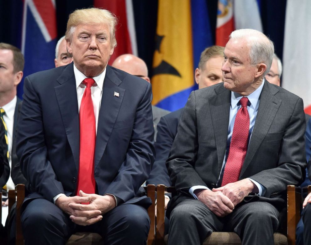 Trump laments Sessions recusal: