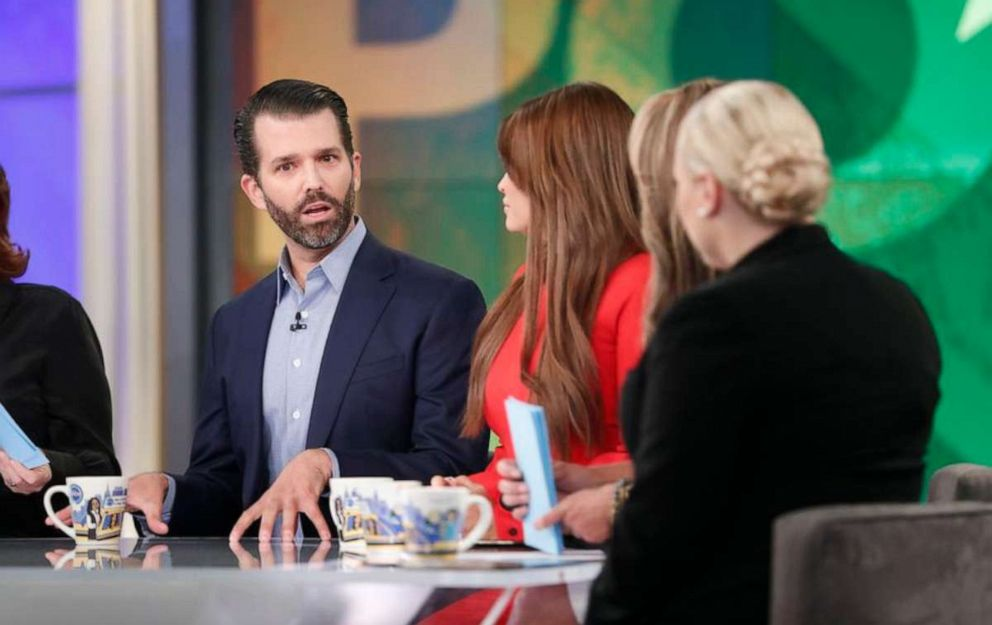 Image result for Donald Trump Jr. on the View