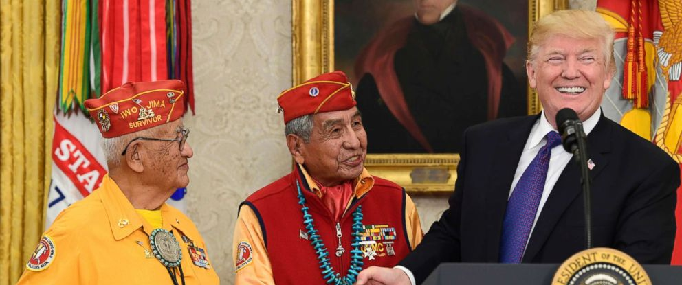 Native American leaders ask Trump to apologize for 'shameful' Wounded Knee remarks