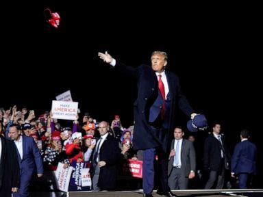 Trump plots return to campaign trail as soon as Monday despite COVID-19 diagnosis thumbnail