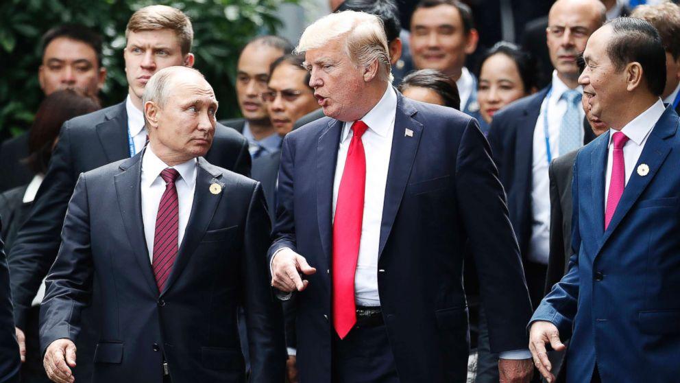 Putin Donald Trump