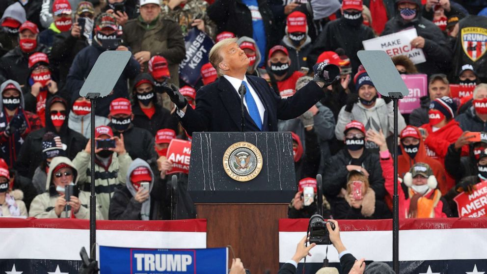 The Note: COVID disconnect looms over Trump in Midwest