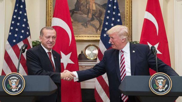 Trump to welcome Erdogan as friend despite high tensions in US-Turkish relations, bipartisan condemnation of Turkey