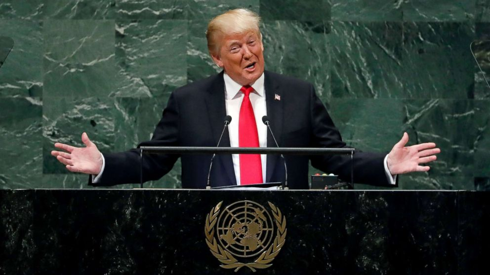 Current Status: Trump 'didn't expect' to get laughed at while speaking at the UN