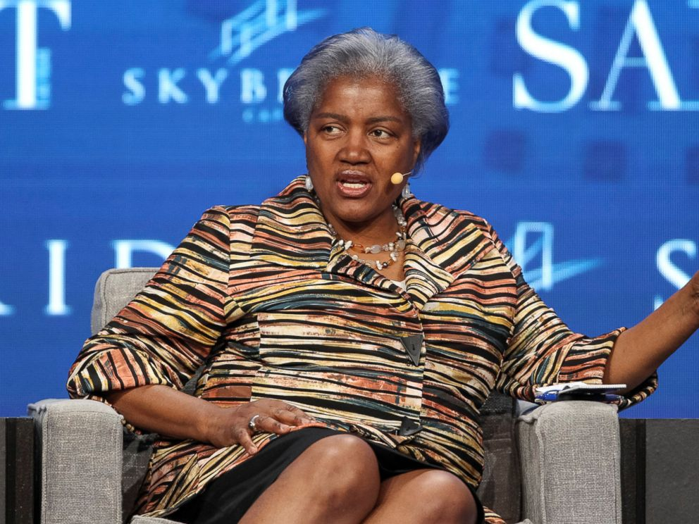 PHOTO: Donna Brazile, former chair of the Democratic National Committee and political strategist, speaks during the SALT conference in Las Vegas, May 18, 2017.
