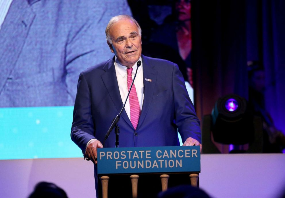PHOTO: Ed Rendell attends the Prostate Cancer Foundation dinner at the Pierre Hotel, Dec. 2, 2015, in New York City.