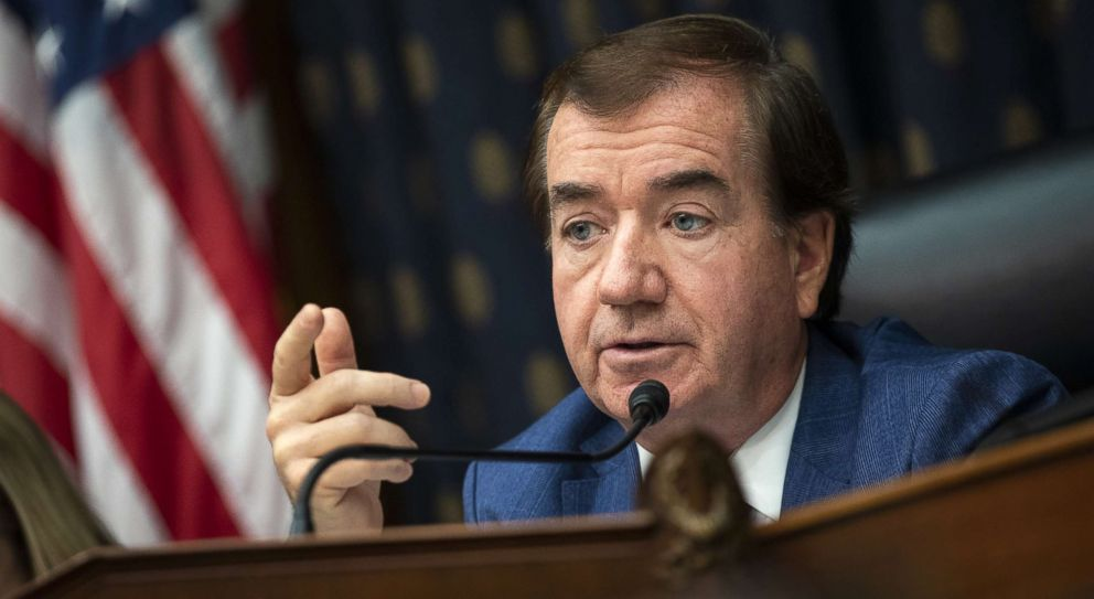 PHOTO: Committee chairman Rep. Ed Royce speaks during a House Foreign Affairs Committee hearing on Capitol Hill, Sept. 26, 2018 in Washington.