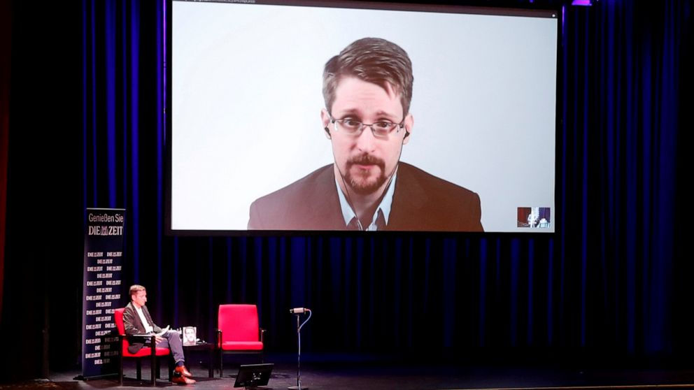 US sues Edward Snowden and publishers over new memoir thumbnail