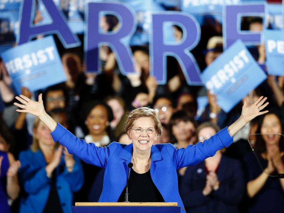 Elizabeth Warren makes first step towards 2020 presidential run