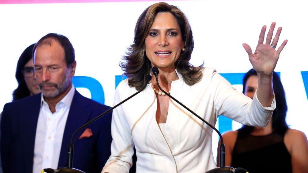 Maria Elvira Salazar concedes to democrat Donna Shalala for the Florida 27th U.S. Congressional District during night event at Hilton Miami Airport Blue Lagoon in Miami, Nov. 6, 2018.