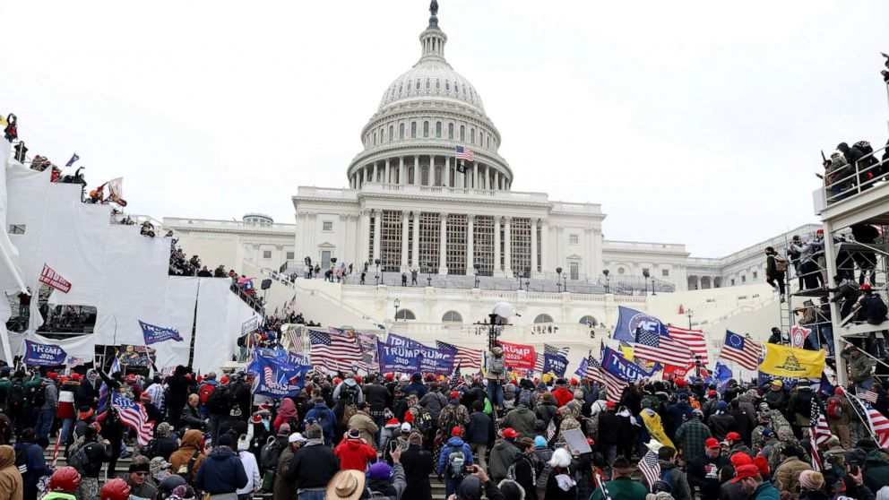 Timeline: How pro-Trump protesters stormed the Capitol - ABC News