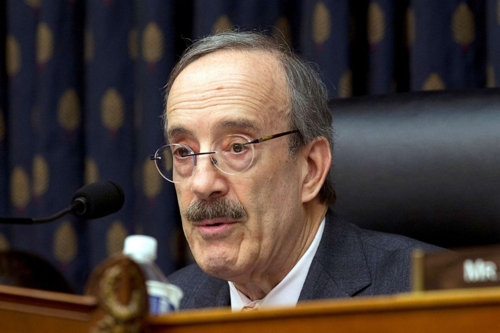 PHOTO: House Foreign Affairs Committee Chairman Rep. Eliot Engel speaks during the House Foreign Affairs subcommittee hearing on Venezuela at Capitol Hill in Washington.