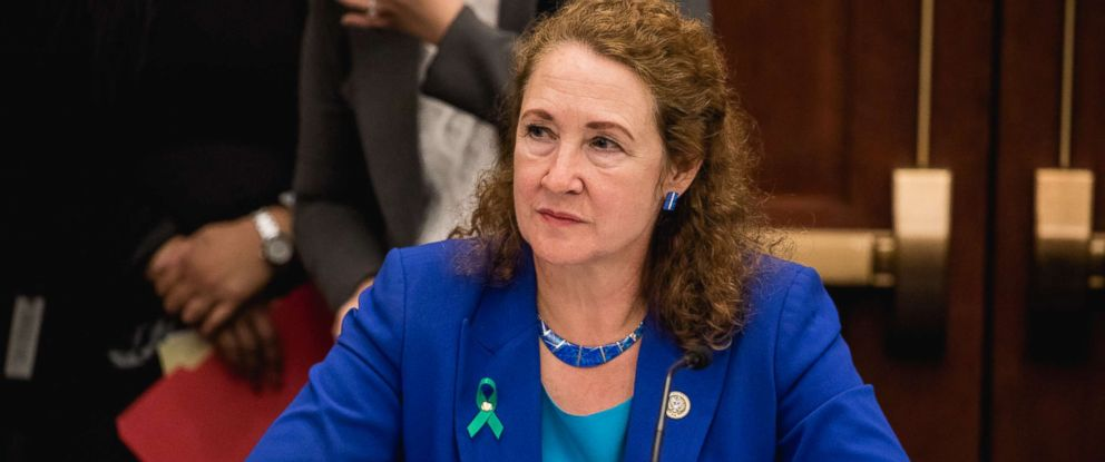 PHOTO: Rep. Elizabeth Esty speaks at a forum to examine evidence-based violence prevention and school safety measures, March 20, 2018 in Washington.
