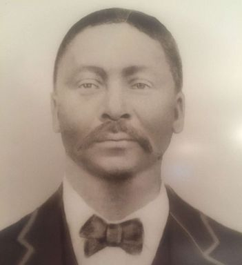 PHOTO: William Harris, photographed circa 1901, was the son of Sam and Betsy Harris who were enslaved and sold by Georgetown University and the Society of Jesus in 1838.