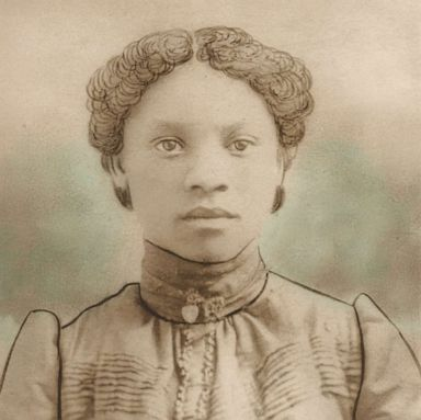 PHOTO: Julia Harris Green, photographed circa 1901, was the daughter of William and Charity Harris.