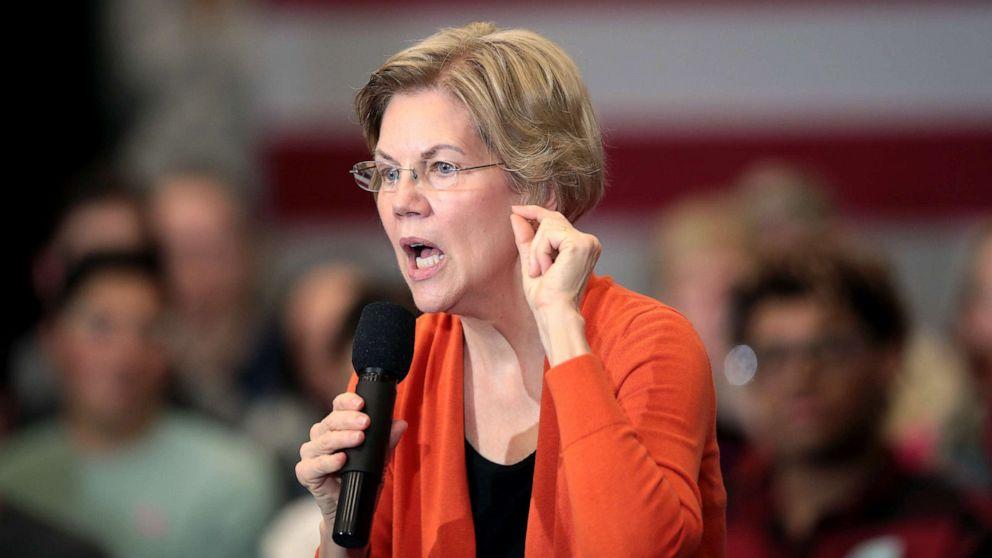Warren sagt Sanders erzählte Ihr eine Frau konnte Sie nicht besiegen Trump