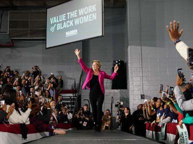 Sen. Elizabeth Warren makes pitch to black women voters, despite protesters