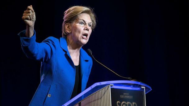 The Note: Warren readies for spotlight at 1st 2020 debate