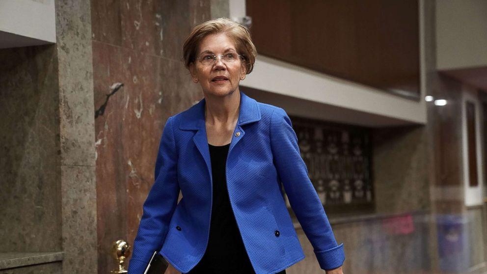Sen. Elizabeth Warren on Capitol Hill, March 1, 2018.