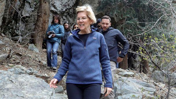 Sen. Elizabeth Warren promises to roll back Trump energy policies on 1st day in office