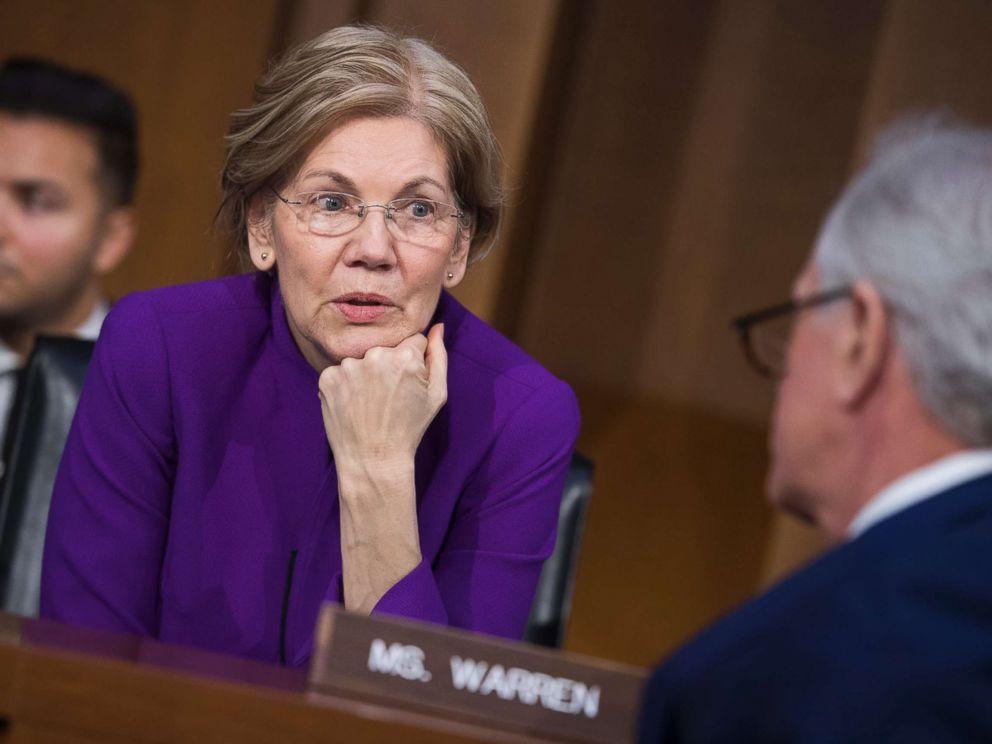 Elizabeth Warren's striking speech responding to Trump's