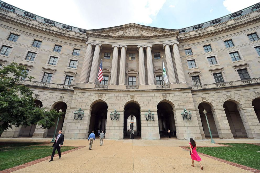 PHOTO: The headquarters of the United States Environmental Protection Agency which is now called the William Jefferson Clinton Federal Building is seen, July 17, 2013 in Washington, DC.