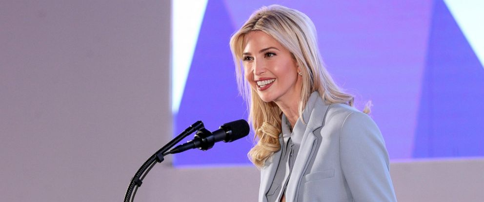 PHOTO: President Donald J. Trumps assistant and daughter Ivanka Trump,  speaks at the