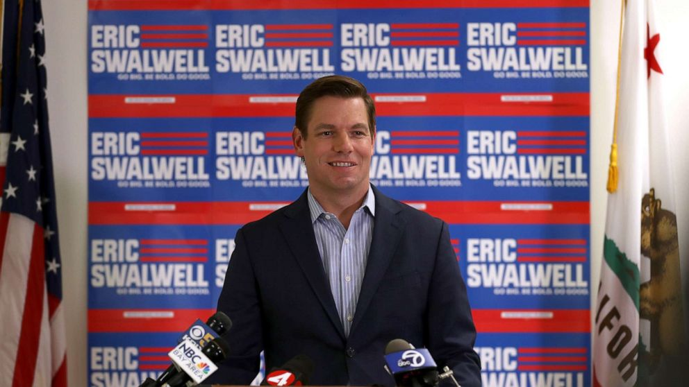 California Rep. Eric Swalwell says 'Rudy Giuliani is Donald Trump' for purposes of impeachment