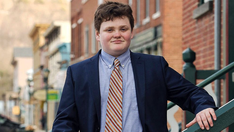 14 year old is running to be vermont s next governor abc news