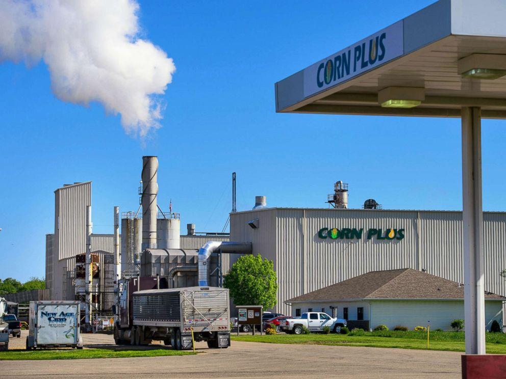PHOTO: The Corn Plus ethanol plant on May 22, 2015, in Winnebago, Minn.