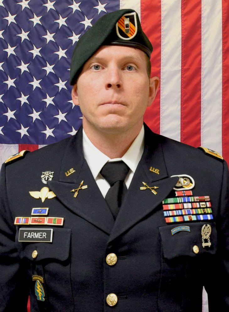 Army Chief Warrant Officer 2 Jonathan R. Farmer, 37, of Boynton Beach, Fla.