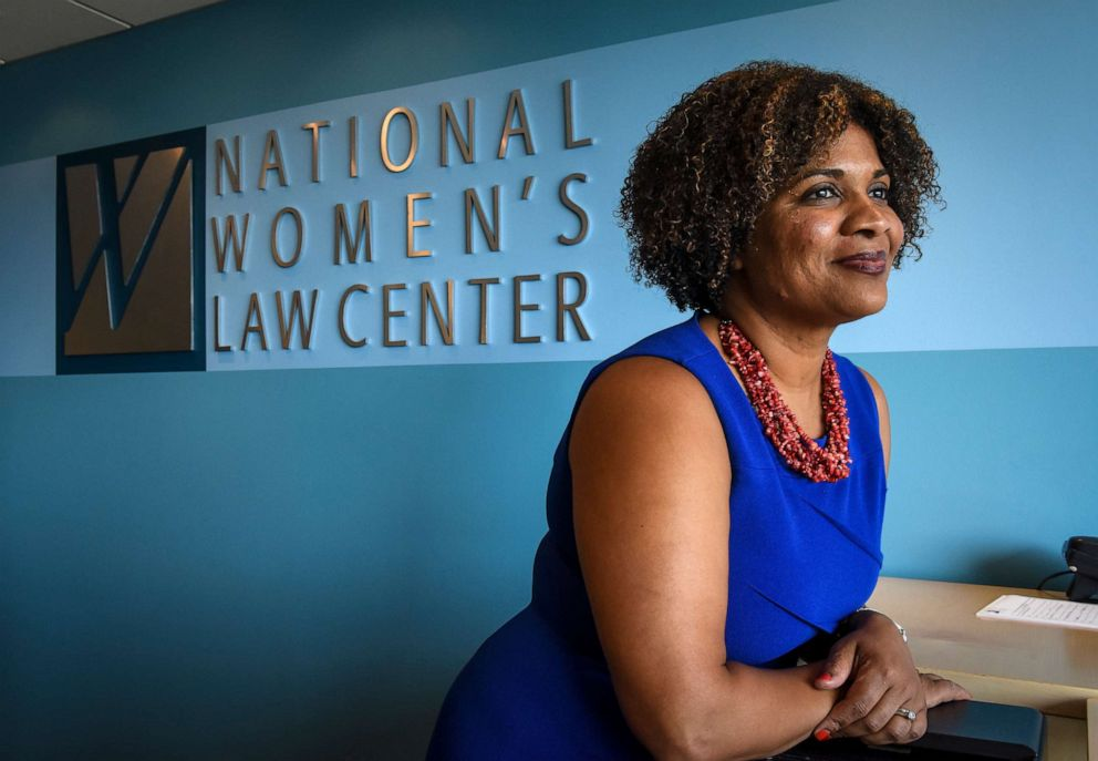 PHOTO: New president and CEO of the National Womens Law Center Fatima Goss Graves, July, 19, 2017, in Washington, DC.