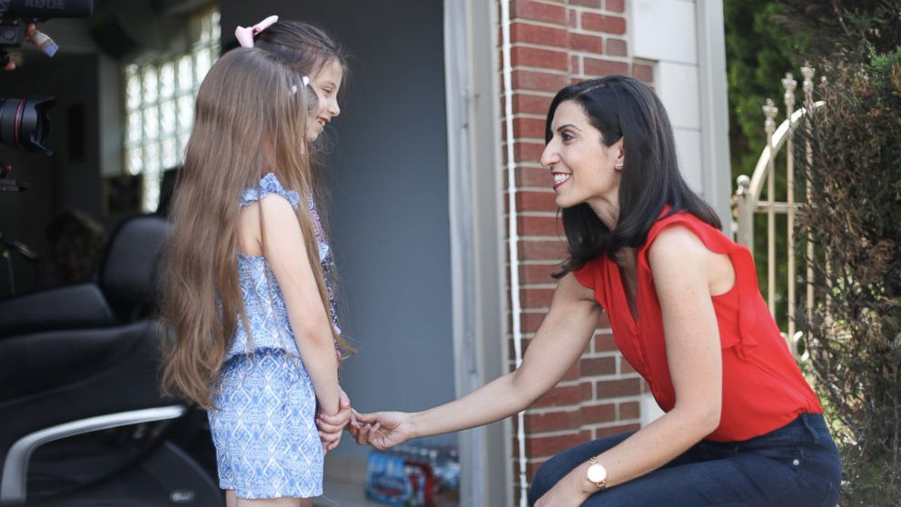 Fayrouz Saad campaigns for a congressional seat in Michigan's 11th district.
