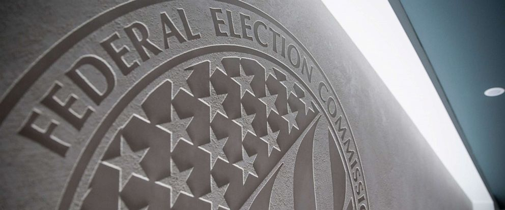 PHOTO: Scenes from the Federal Election Commission headquarters in Washington, D.C., Sept. 21, 2018.