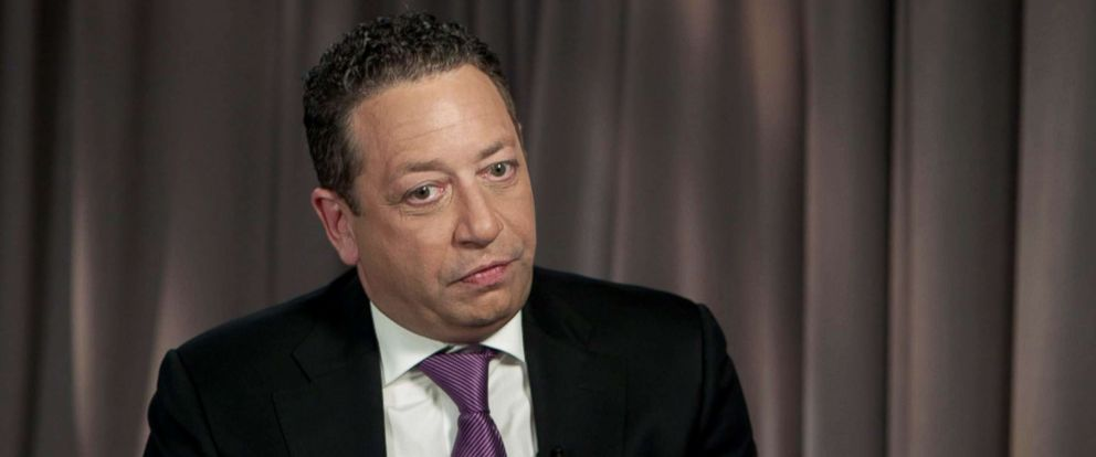 PHOTO: Former Trump adviser Felix Sater speaks to ABC News Chief Anchor George Stephanopoulos.